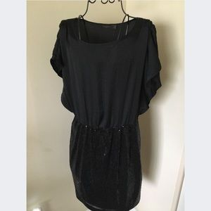 The Limited Black Sequin Dress Size L